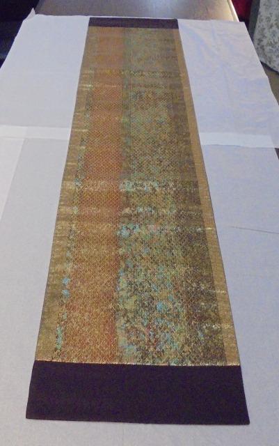 正絹 蛇カラフル 31cm幅x150cm長